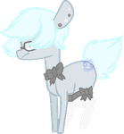 Aesthetic-Ghost {Ponysona redesign} by Karkats-Spaghetti