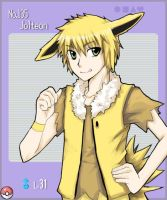 Gijinka Jolteon by urusai-baka