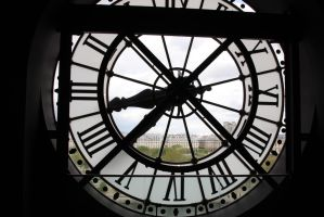 Horloge du Musee d'Orsay by 914four