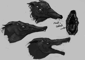 dog head concept by hot-patato
