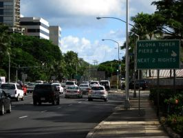 where is aloha tower? by angelprisz