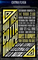 You Just Dance Party Flyer by LouisTwelve-Design