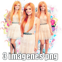 Pack png 05 Bella Thorne by MichelyResources