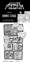 Scott Pilgrim Bonus Stage by p3hrmne