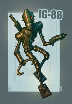 Assassin Droid by electronicron