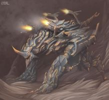Siege Warmachine by Eriyal