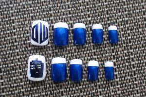Dr. Who Nails by TheUnknownAssassin