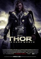 THOR: The Dark World - Movie Poster by JustHunt