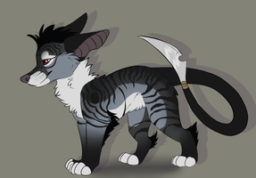 mr spikey tail adoptable by Chargay