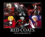Red Coat Anime