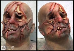Mutilated Head by CB-FX