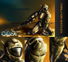 Unfinished - ODST by Omegaro