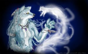 Smoke Spirit by Phantom--Wolf