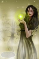 Will O the Wisp by Tricia-Danby