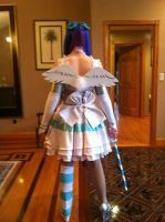 Back of Stocking Cosplay by XPockyDemonX