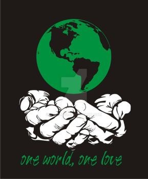 one world, one love by gt53rg10