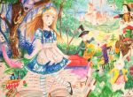 Alice in wonderland by zojij