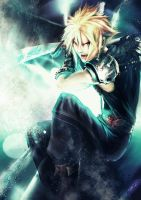 Cloud - Final Fantasy VII by B-tot