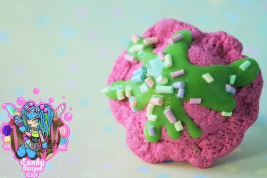 Scented Slime Sundae Ring by CandyStripedCafe