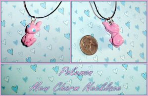 Pokemon - Mew Charm Necklace III by YellerCrakka