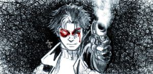 Jason Todd Sketch by MGNemesi