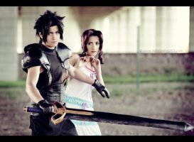 Stay away from Aerith by Arwenphoto