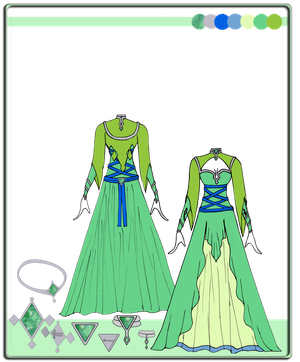 Quietus Designs: Greenleaf Gown