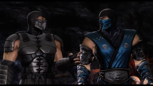 Sub Zero and Smoke by TheLinKueiNinja
