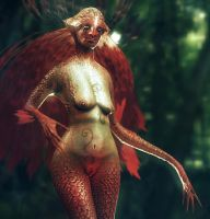 woodland fairy by Bawarner