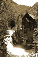 Antique Crystal Mill by NosnamTakk