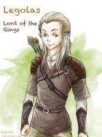 LOTR: Legolas by Angels-Leaf