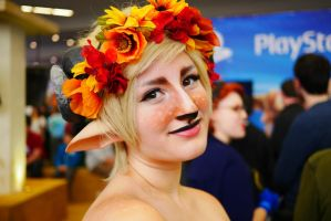 Fall Faun by ISpeakMuffin