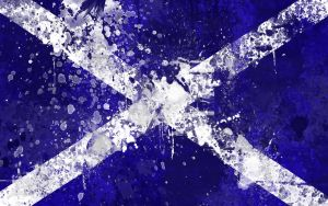 Scottish Flag Wallpaper Pack by GaryckArntzen