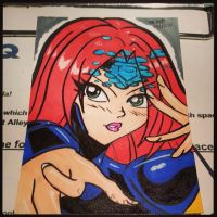 Jean Grey Card by the-kid36