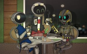 Coffee with Friends by RagingDroidX