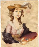 Vigee Le Brun by pixieC