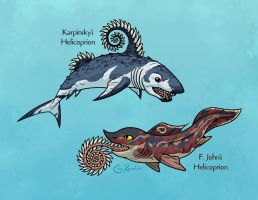 Science Ruined Helicoprion by Monster-Man-08