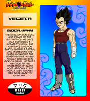 Vegeta Bio Card by MalikStudios