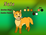 Naia (Design for Silvixen's Dingo Contest) by Erexis