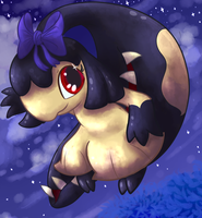 Chio the Mawile by KiwiBeagle