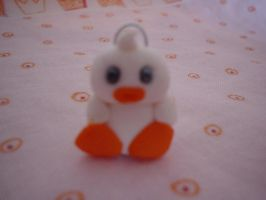 charms white duck by Libellulina