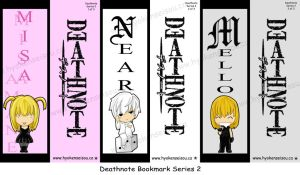 DN Bookmark Series 2 by Hyokenseisou