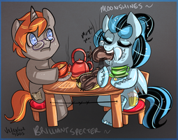 REQUEST: Tea time with Moony by Velexane