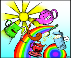 tea party - coloured by dongpeiyen1000