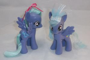 Custom Flitter and Cloudchaser by Gryphyn-Bloodheart