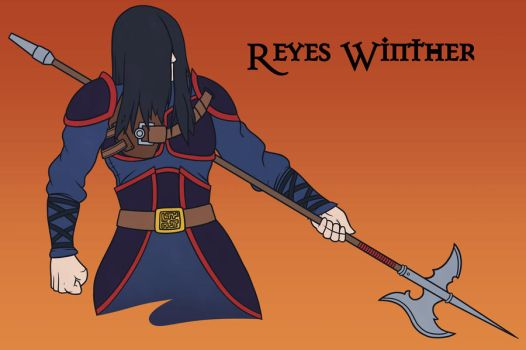 Reyes Winther - DnD character by Rocketarm