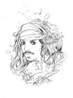 2012-12-05 Jack Sparrow by amoykid