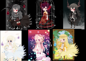 Adoptable's by real-Slender-girl