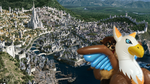 Flying high above Stormwind by pegla