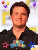 Happy b-day Nathan Fillion by CTG22